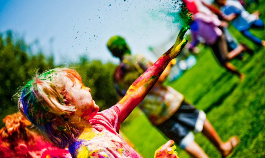 Throw Cool(&Messy) Color Run Birthday Party In 11 Steps